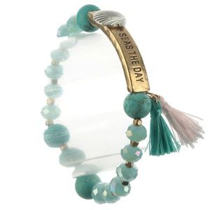 Sea's The Day Ocean Lover Beaded Bracelet